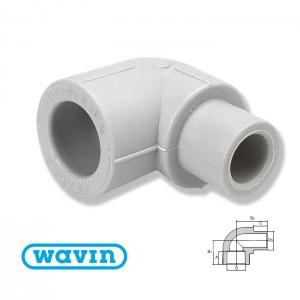 Колено 90 в-н d20 Ekoplastik SKO120 - Wavin