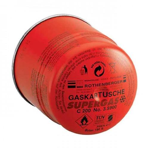 Газовый баллон SUPERGAS  С 200 35901-B - Rothenberger