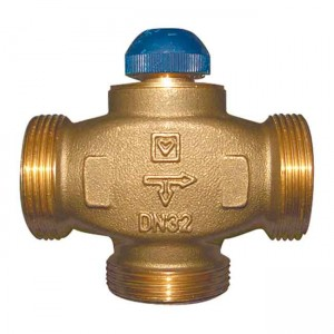 """Клапан термостатический трехходовой 1 1/4"""" CALIS-TS-RD 1776141 - HERZ"""