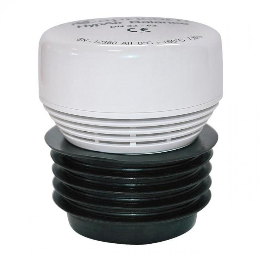 Клапан противовакуумный HypAirBalance d32-63 канализационный - Capricorn