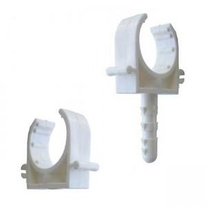Клипса одинарная для металлопластиковых труб d26 - Lion