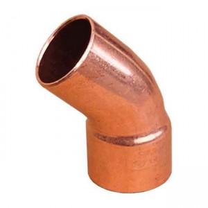 Колено под пайку медь d35 45° (одна муфта) 5040 - Sanha