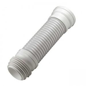 Колено для унитаза гофрированное D90-110x400mm 945C - Remer