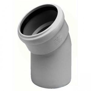 Колено d50x30 PVC канализация - Wavin