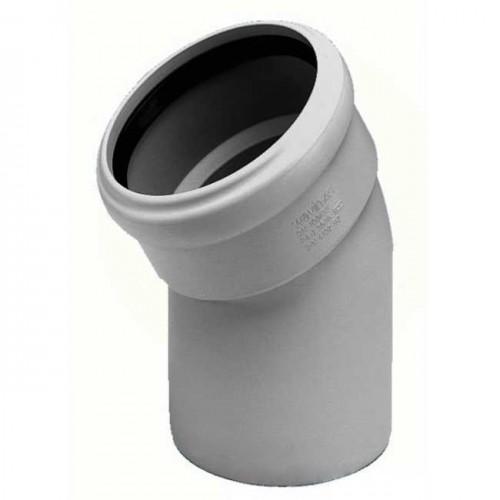 Колено d110x30 PVC канализация - Wavin