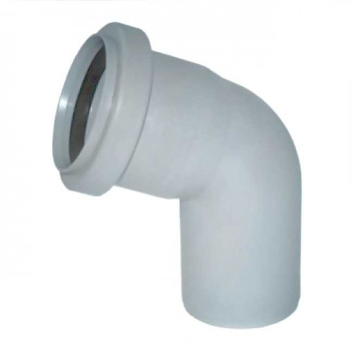 Колено d110x67 PVC канализация - Wavin