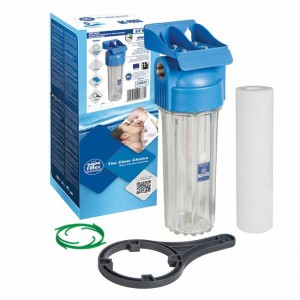 "Корпус фильтра Big Blue 10"" резьба 3/4"" FHPR34-HP1 - Aquafilter"