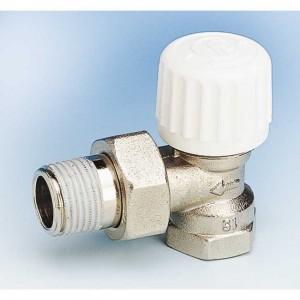 """Кран для радиатора термостатический угловой 1/2"""" 760P - Pettinaroli"""