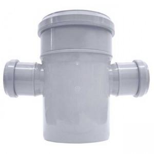 Крестовина d110xd50xd50x87 PP канализация - Valsir