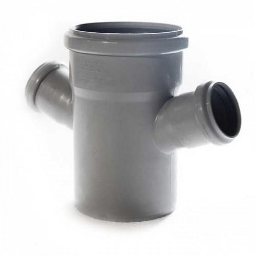 Крестовина d110xd50xd50x67 PVC канализация - Wavin