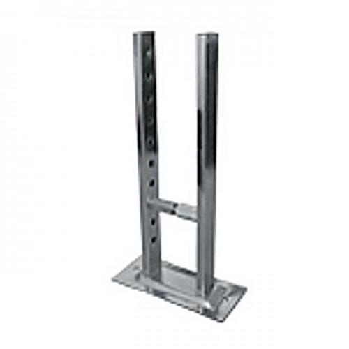 Кронштейн крепления алюминиевого радиатора напольный