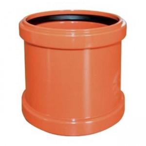 Муфта d160 PVC наружная канализация класс N - Wavin