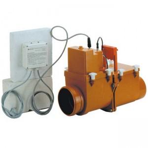 Обратный клапан HL710.2EPC d110 канализационный - Hutterer&Lechner
