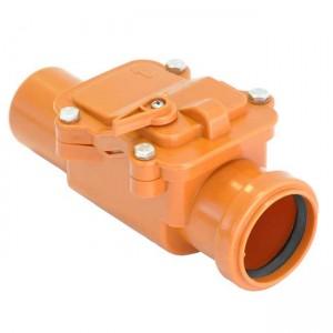 Обратный клапан d110 канализация - Мпласт