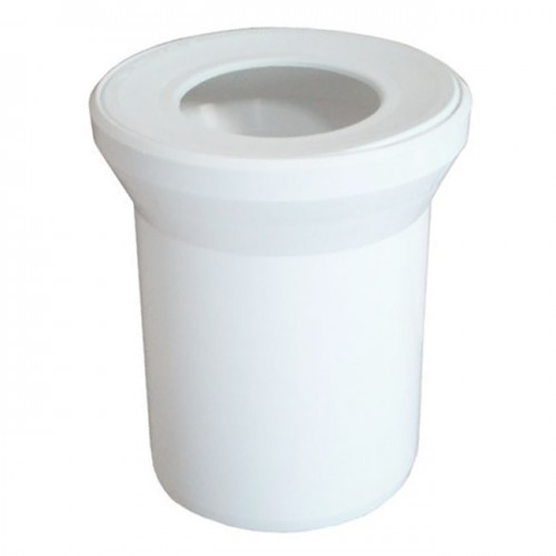 Патрубок для унитаза белый d110x400mm 58.203 - Sanit