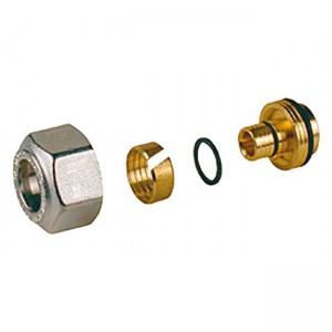 Переходник для металлопластиковых и пластиковых труб 16x(16x2) R179MX014 - Giacomini