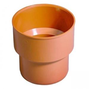 Переходная муфта d160 PVC-Чугун наружная канализация - Wavin