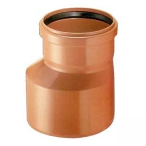 Переход d160x110 PVC наружная канализация класс N - Wavin