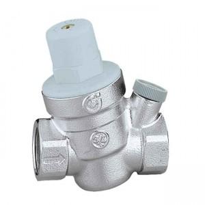 """Редукционный клапан давления холодной воды с подключением манометра 3/4"""" 533451 - Caleffi"""