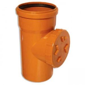 Ревизия d200 PVC наружная канализация класс N - Wavin