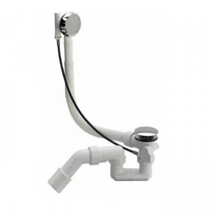 Сифон для ванны Simplex полуавтомат (пластик) 285357 - Viega