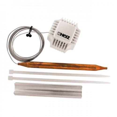 Термостатическая головка с накладным датчиком 40-70 °С 1742100 - HERZ