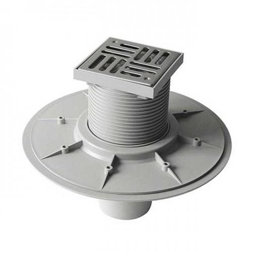 Трап для наружного и внутреннего использования вертикальный DN50 150x150mm EAS45AI - Redi