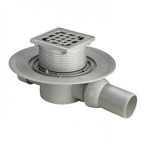 Трап для ванной комнаты Advantix горизонтальный DN50 100x100mm 557119 - Viega