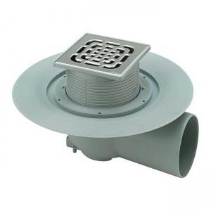 Трап для ванной комнаты Advantix горизонтальный DN100 150x150mm 557171 - Viega
