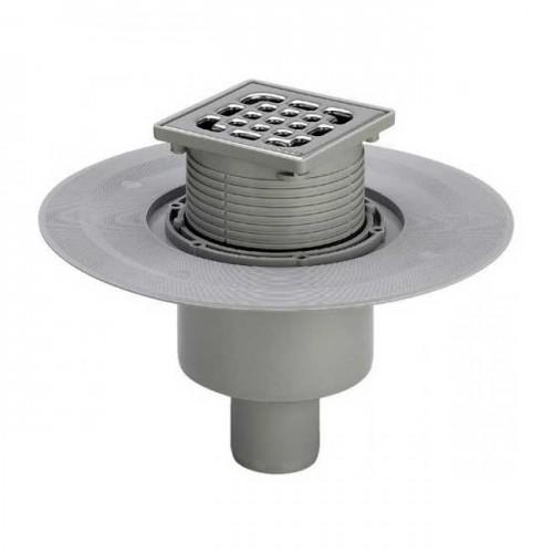 Трап для ванной комнаты Advantix вертикальный DN50 150x150mm 557188 - Viega