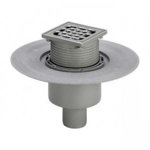 Трап для ванной комнаты Advantix вертикальный DN70/100 150x150mm 557201 - Viega