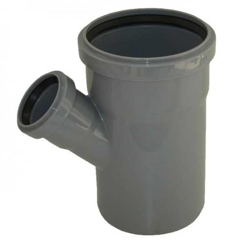 Тройник d110xd50x45 PVC канализация - Wavin