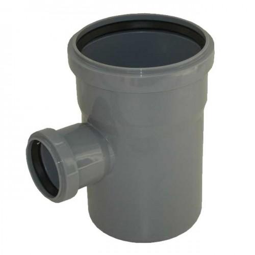 Тройник d110xd50x88 PVC канализация - Wavin