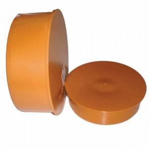 Заглушка d160 PVC наружная канализация - Wavin