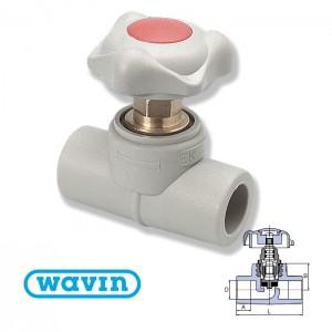 Вентиль проходной d20 Ekoplastik SVE020 - Wavin
