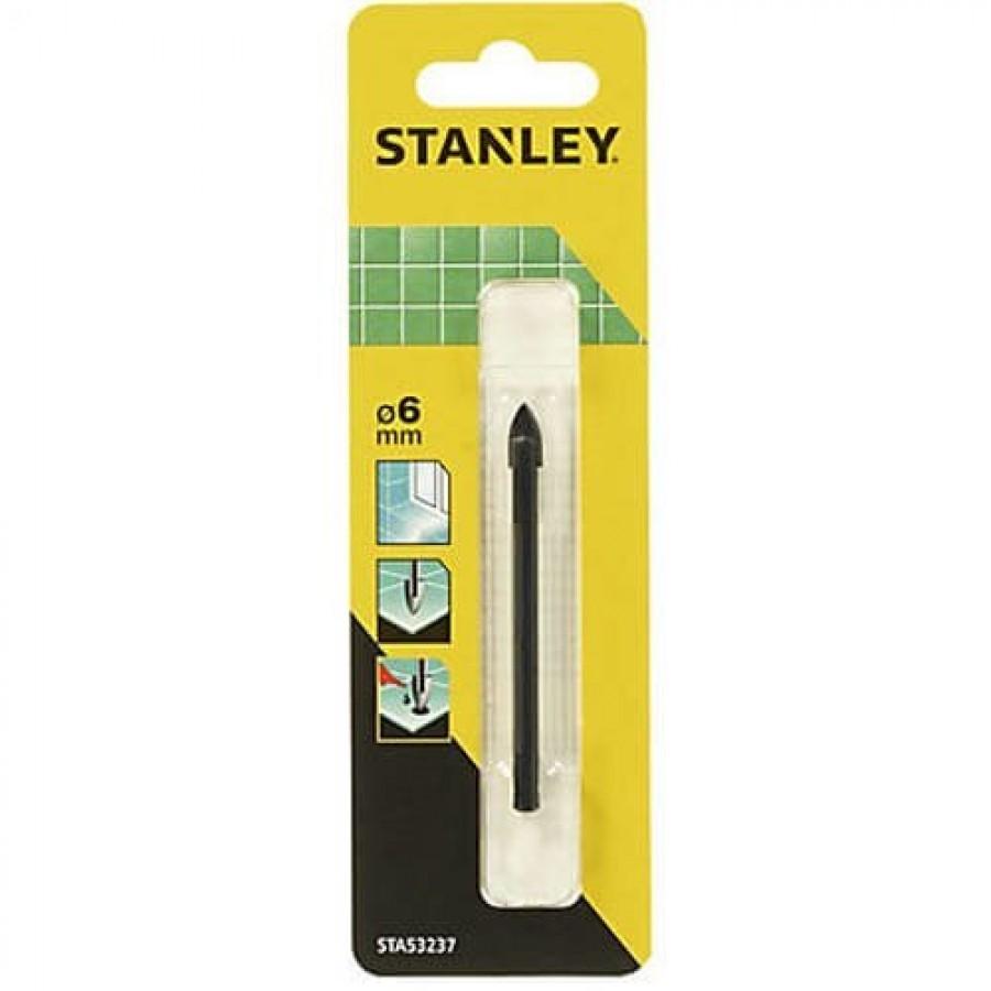 Свердло по плитці Stanley 6x76 мм STA53237